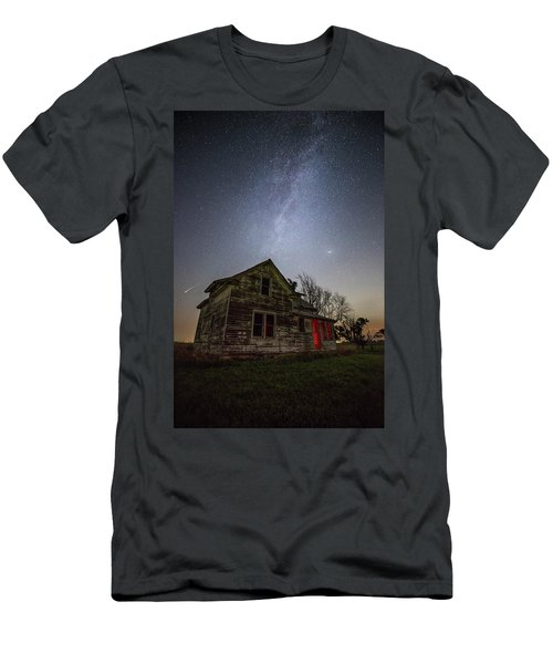 Men's T-Shirt (Athletic Fit) featuring the photograph   Resident Evil by Aaron J Groen