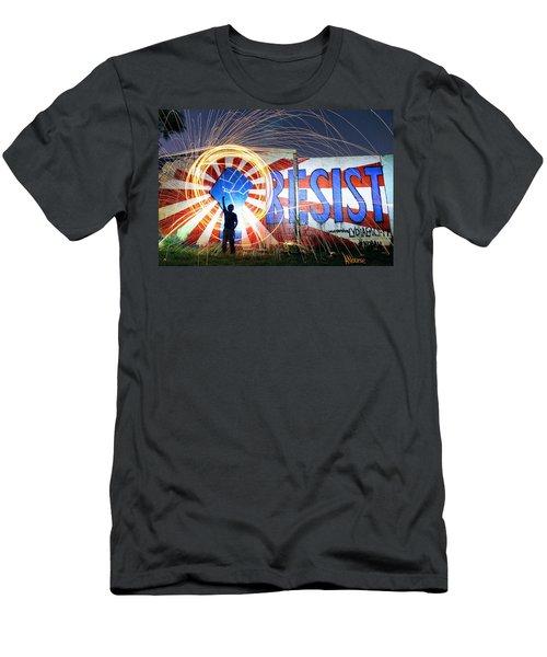 Resist Men's T-Shirt (Athletic Fit)