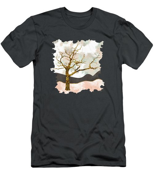 Resolute Men's T-Shirt (Slim Fit) by Katherine Smit