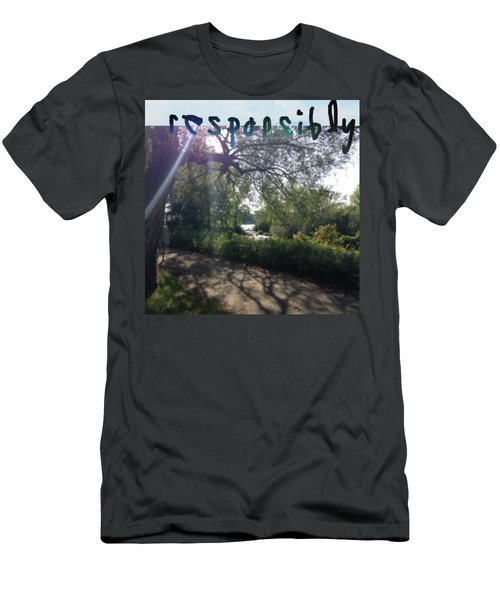 Responsibly Men's T-Shirt (Athletic Fit)