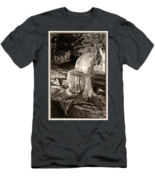Men's T-Shirt (Slim Fit) featuring the photograph Rest Stop by Vinnie Oakes