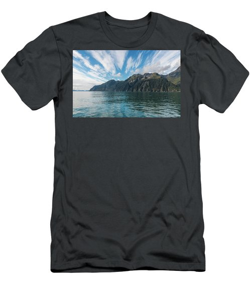 Men's T-Shirt (Athletic Fit) featuring the photograph Resurrection Bay, Kenai Fjords National Park In Alaska by Brenda Jacobs