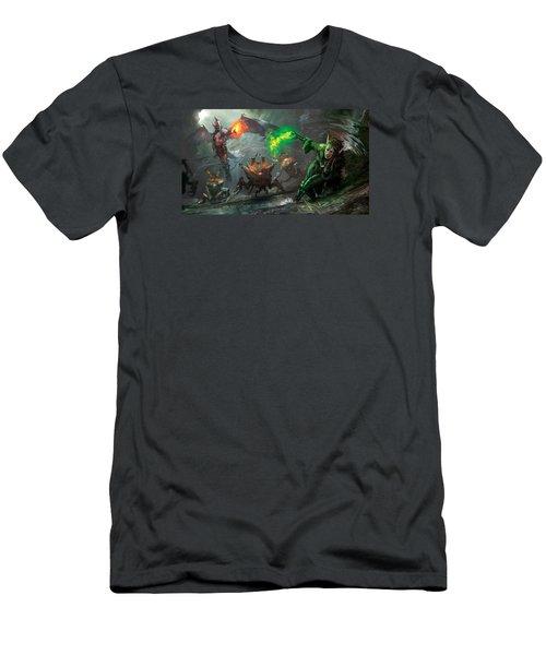 Retaliation Of Ob Nixilis Men's T-Shirt (Athletic Fit)