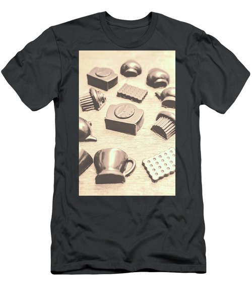 Retro Tea Party Men's T-Shirt (Athletic Fit)