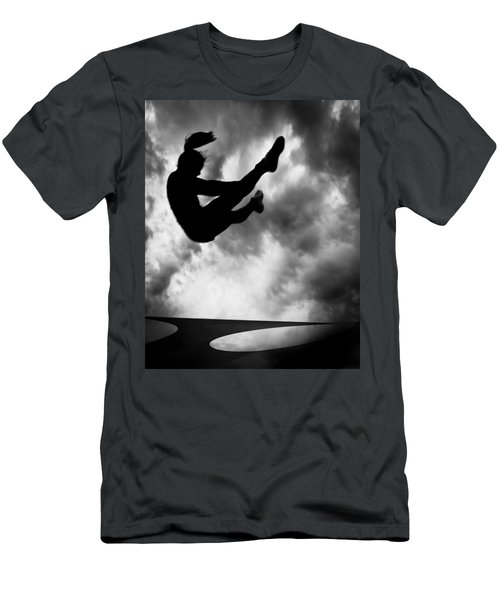 Returning To Earth Men's T-Shirt (Athletic Fit)