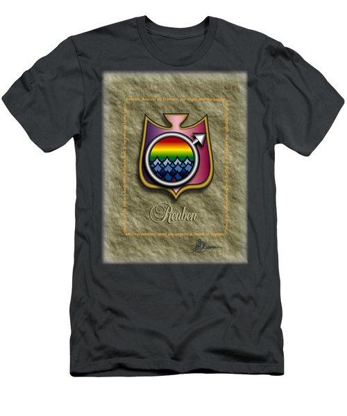 Reuben Shield Shirt Men's T-Shirt (Athletic Fit)