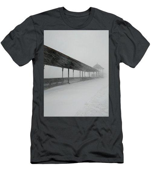 Revere Beach Nor'easter -jan 4,2018 Men's T-Shirt (Athletic Fit)