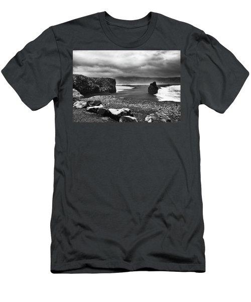 Reynisfjara Men's T-Shirt (Slim Fit) by Wade Courtney