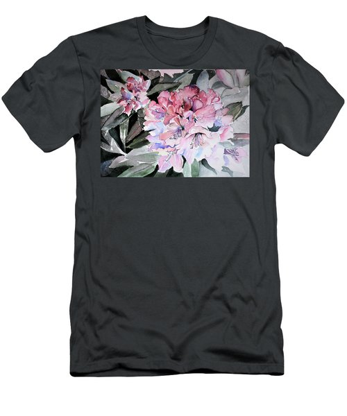 Rhododendron Rose Men's T-Shirt (Athletic Fit)