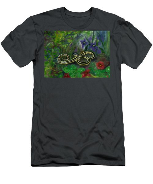 Ribbon Snake Men's T-Shirt (Athletic Fit)