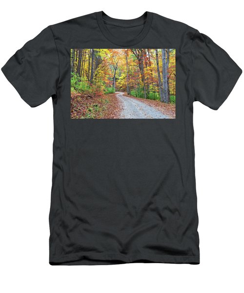 Rich Mountain Road Men's T-Shirt (Athletic Fit)