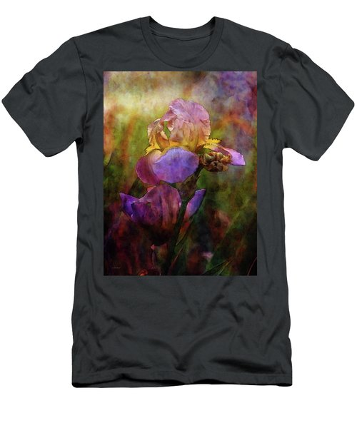 Rich Purple Irises 0056 Idp_22 Men's T-Shirt (Athletic Fit)