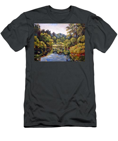 Richard's Pond Men's T-Shirt (Slim Fit) by Alexandra Maria Ethlyn Cheshire
