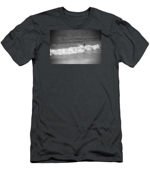 Riding It Out Men's T-Shirt (Slim Fit) by Susan  McMenamin