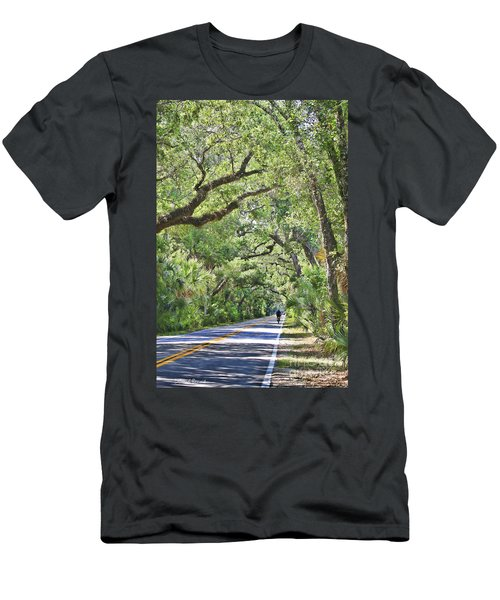 Riding The Ormond Loop Men's T-Shirt (Athletic Fit)
