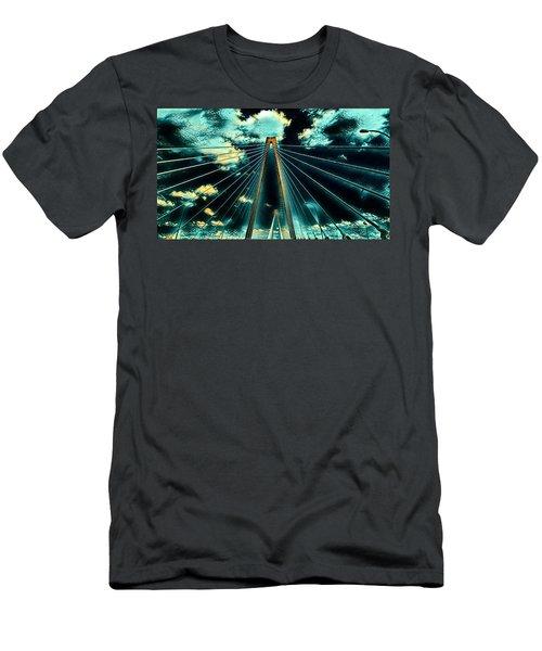 Riding The Ravenel Men's T-Shirt (Athletic Fit)