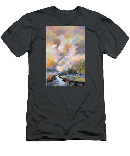 Rim Light Men's T-Shirt (Slim Fit) by Rae Andrews