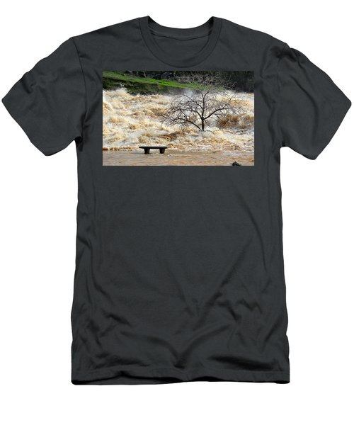 Men's T-Shirt (Athletic Fit) featuring the photograph Ringside Seat by AJ Schibig