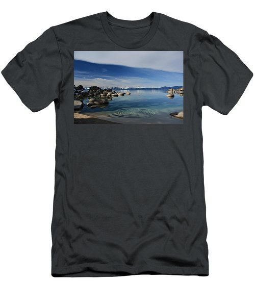 Men's T-Shirt (Athletic Fit) featuring the photograph Ripples   by Sean Sarsfield