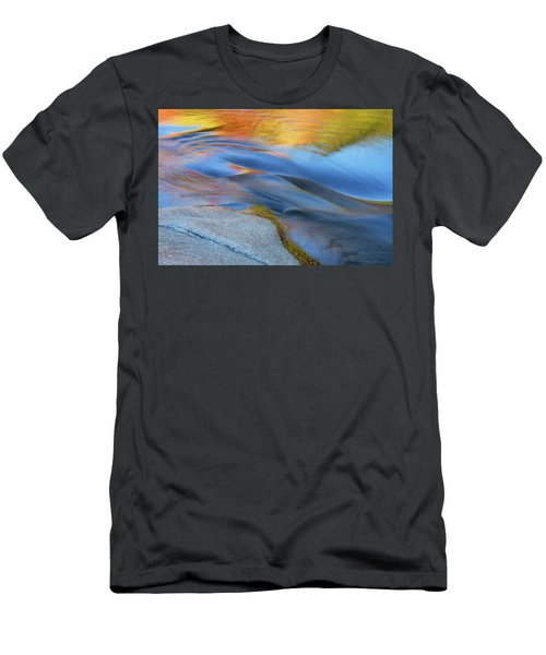 Ripples Flow Swift River Nh Men's T-Shirt (Athletic Fit)