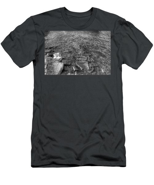 Ripples On Lake Champlain Men's T-Shirt (Athletic Fit)