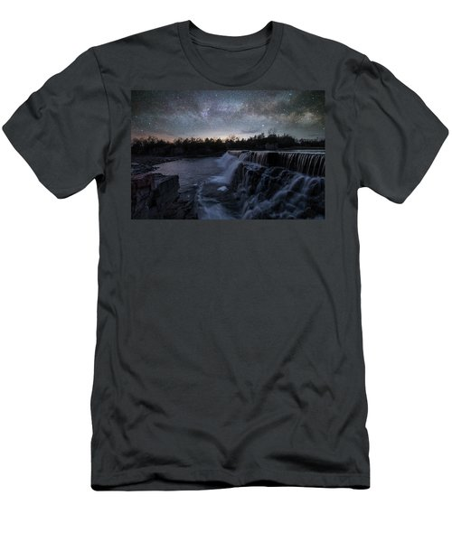 Men's T-Shirt (Slim Fit) featuring the photograph Rise And Fall by Aaron J Groen