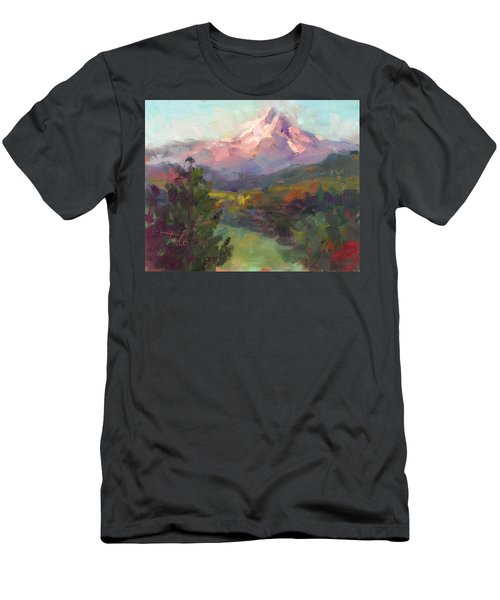 Men's T-Shirt (Athletic Fit) featuring the painting Rise And Shine by Talya Johnson
