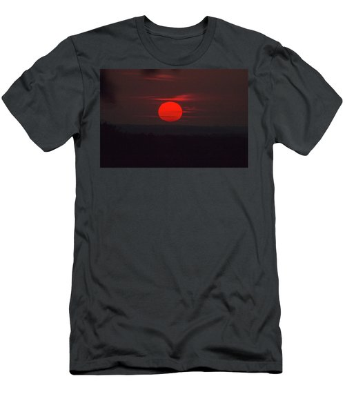 Rising Sun In Texas Men's T-Shirt (Athletic Fit)