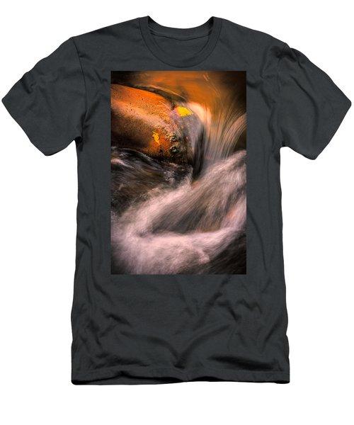 River Flow, Zion National Park Men's T-Shirt (Athletic Fit)
