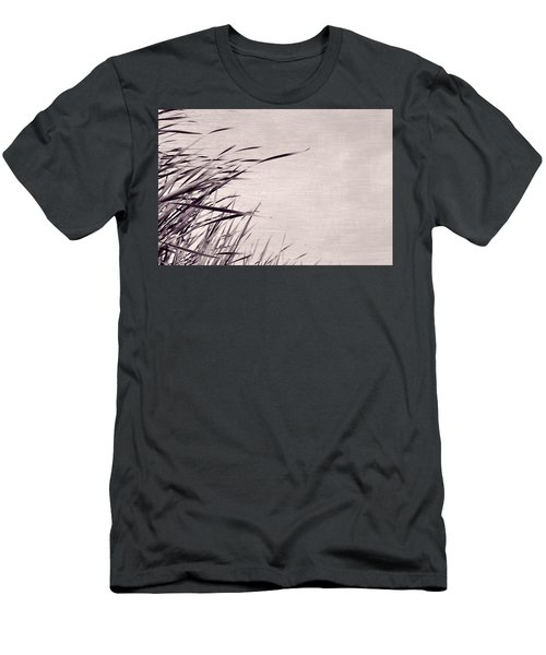Men's T-Shirt (Athletic Fit) featuring the photograph River Grass by Michelle Calkins