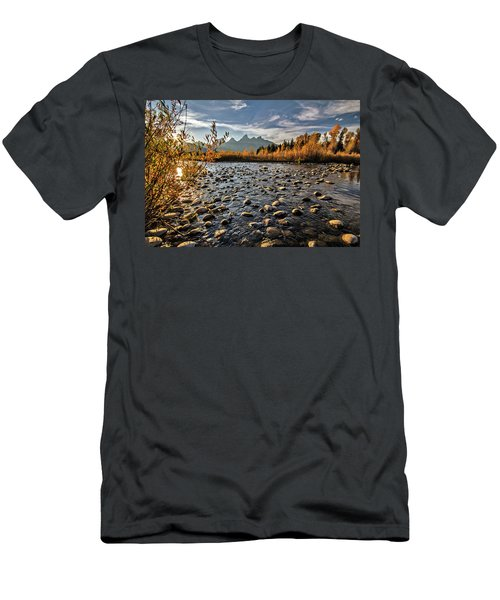 River In The Tetons Men's T-Shirt (Athletic Fit)
