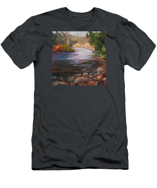 River Light Men's T-Shirt (Athletic Fit)