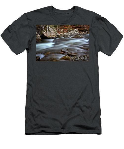 River Magic Men's T-Shirt (Slim Fit) by Douglas Stucky