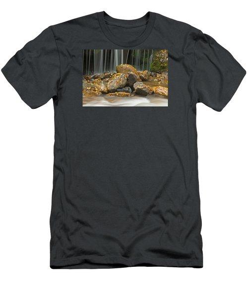 River Rocks Men's T-Shirt (Athletic Fit)