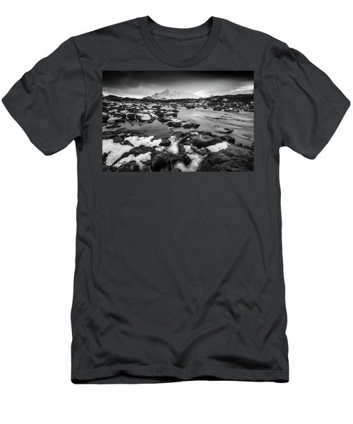 River Sligachan And Black Cuillin, Isle Of Skye Men's T-Shirt (Athletic Fit)