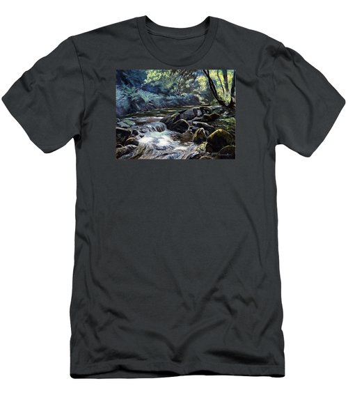 River Taw Sticklepath Men's T-Shirt (Athletic Fit)