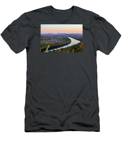 Connecticut River View  Men's T-Shirt (Athletic Fit)