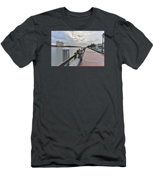 River Walk Path Men's T-Shirt (Athletic Fit)