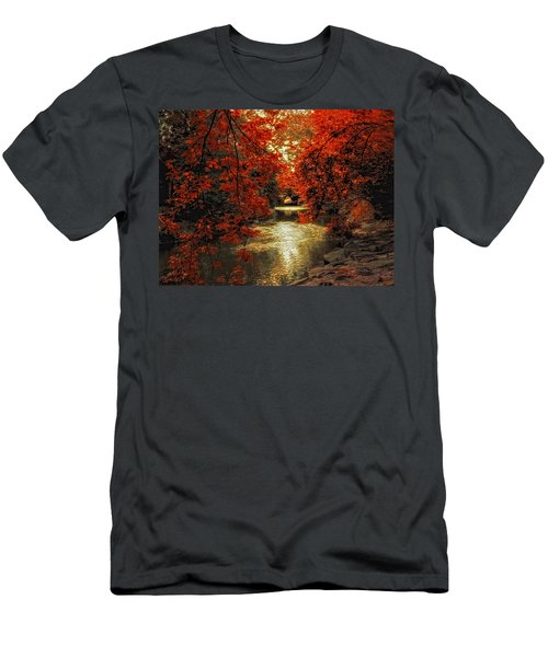 Riverbank Red Men's T-Shirt (Athletic Fit)