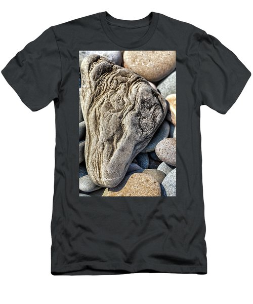 Rivered Stone Men's T-Shirt (Athletic Fit)