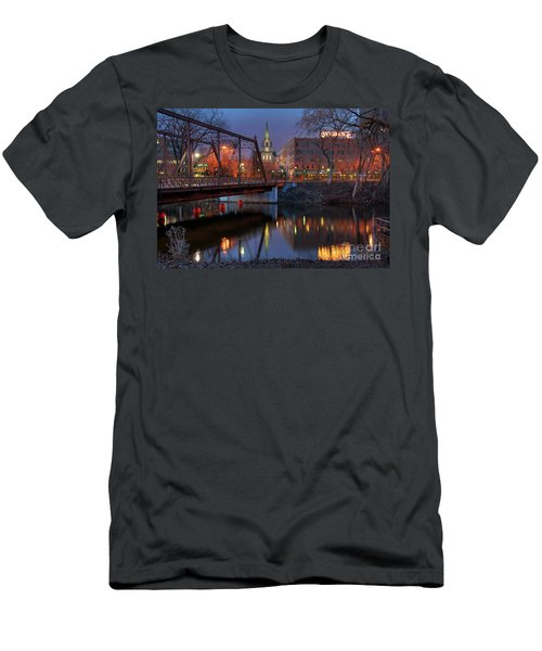 Riverplace Minneapolis Little Europe Men's T-Shirt (Athletic Fit)