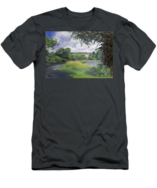 Riverside House And The Cauld Men's T-Shirt (Athletic Fit)