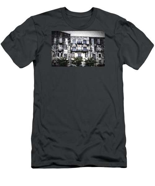 Men's T-Shirt (Slim Fit) featuring the photograph Riverview by Judy Wolinsky