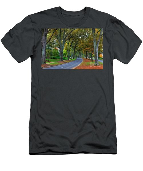 Road In Charlotte Men's T-Shirt (Athletic Fit)