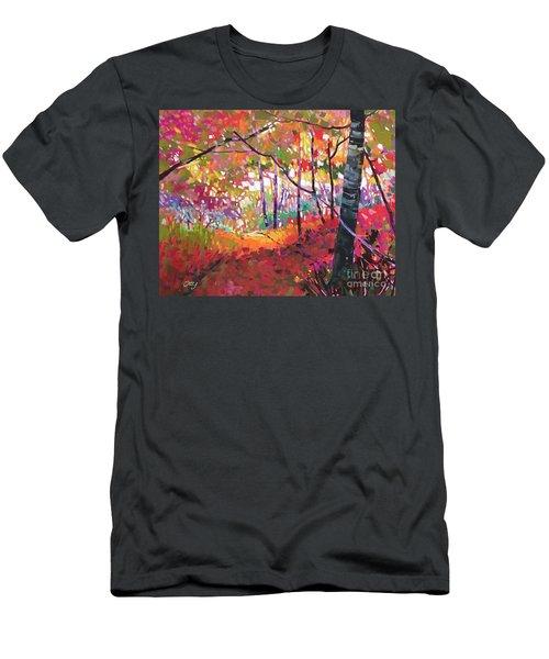 Road Not Taken Men's T-Shirt (Athletic Fit)