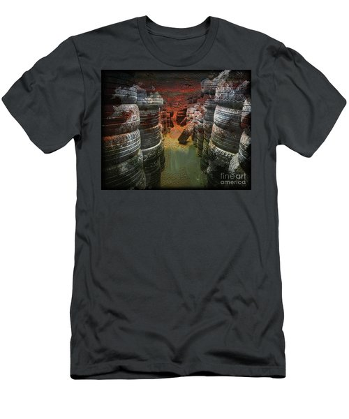 Road Rash Men's T-Shirt (Athletic Fit)