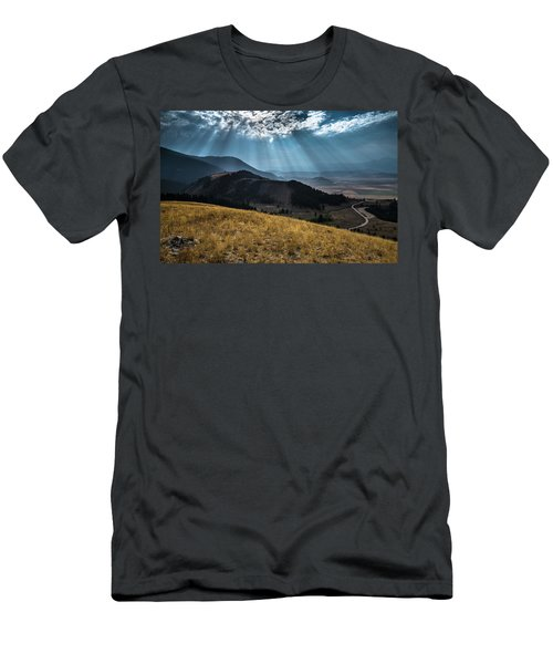 Road To Curtis Canyon Men's T-Shirt (Athletic Fit)