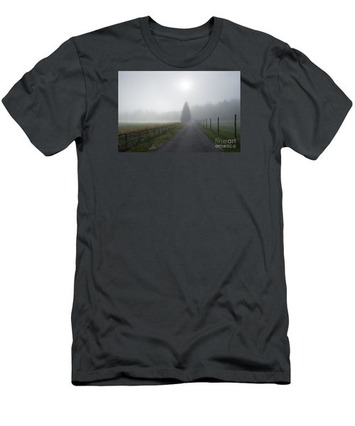 Men's T-Shirt (Slim Fit) featuring the photograph Road To Nowhere by Yuri Santin