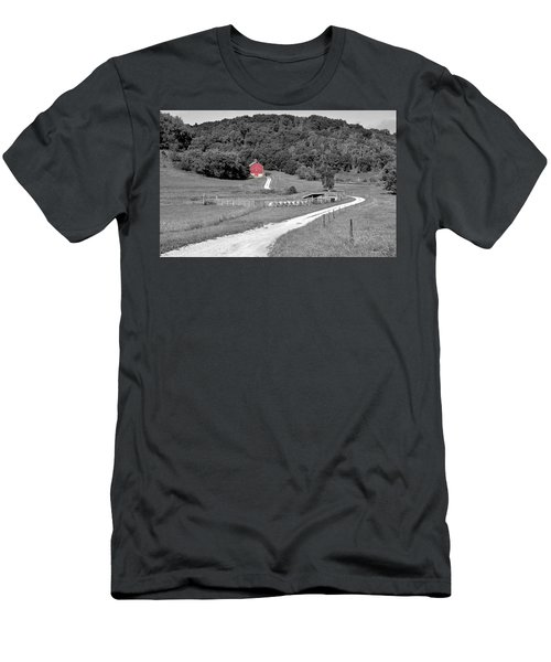 Road To Red Men's T-Shirt (Athletic Fit)