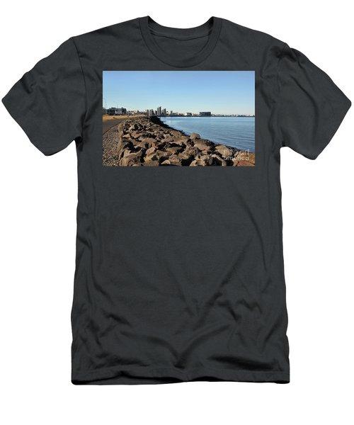 Road To Reykjavik Men's T-Shirt (Athletic Fit)